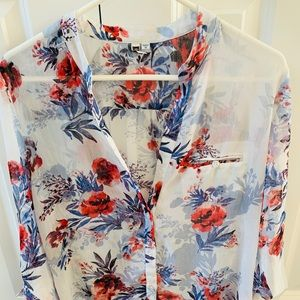 Kit from the Kloth floral button down